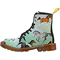 Artsadd Fashion Shoes Chicken Lace Up Boots For Women