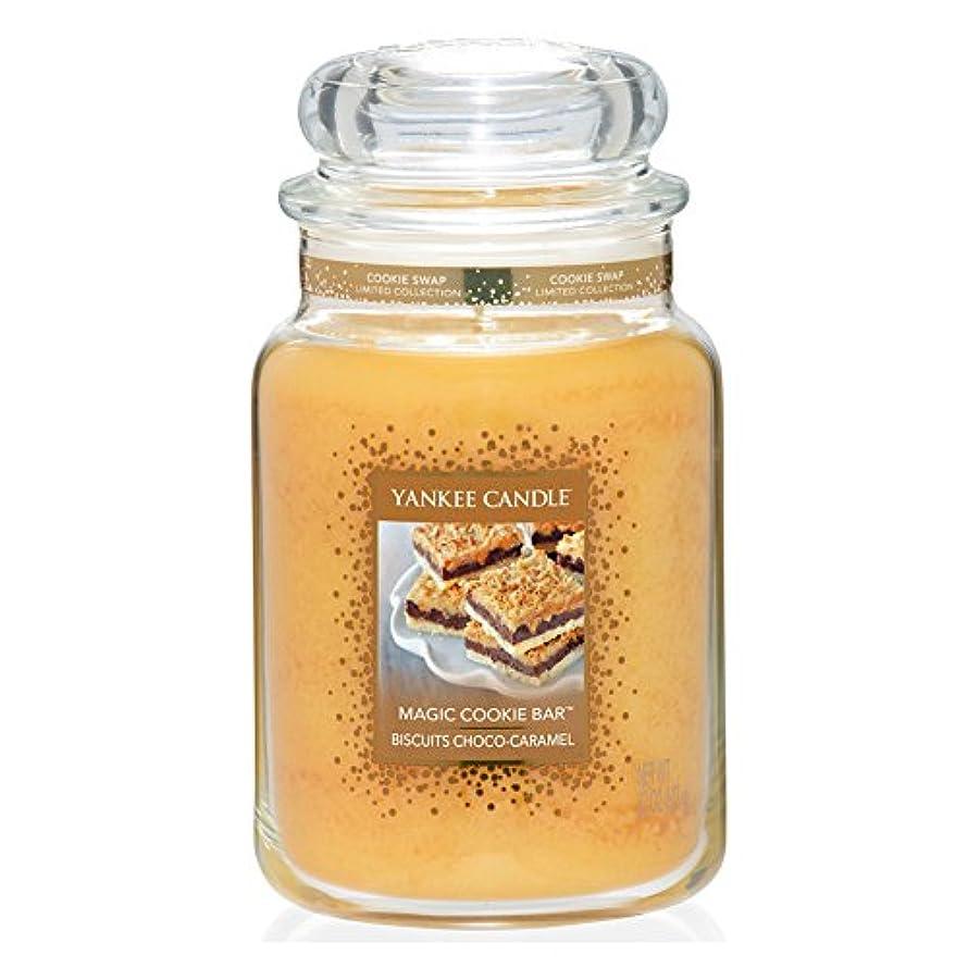 買収曲がった給料Yankee CandleマジッククッキーバーLarge Jar
