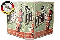 バインダー 2 Ring Binder Lever Arch Folder A4 printed Kebab
