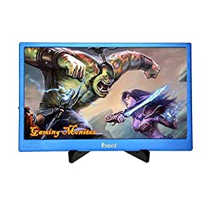 EYOYO 13 Inch 2K IPS Gaming Monitor 2560x1600 High Resolution with Dual HDMI Input Built-in Speakers For PC Camera PS2 PS3 PS4 Xbox One Xbox360(Blue Color) [並行輸入品]