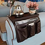 Sofa Couch Remote Control Holder- Chair Armrest Caddy Pocket Organizer, remote control caddy,Use for Remote Controls, Game Co