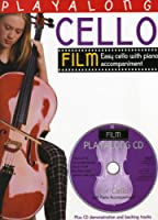 Playalong Cello: Film Tunes. Partitions, CD pour Violoncelle, Accompagnement Piano