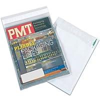 Aviditi CV912 View Polyolefin Envelope 12 Length x 9 Width Clear/White (Case of 500) [並行輸入品]