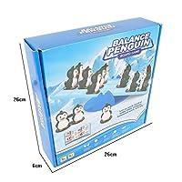 Liebeye バランスペンギン キッズクリエイティブバランスペンギンゲームシーソーバランス家族フレンド楽しい子供の知能開発脳のおもちゃおもちゃ