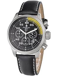 エアロマチック1912 腕時計 二戦 ドイツ 空軍 パイロット 復刻 クロノグラフ A1203 [並行輸入品]