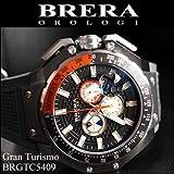 [ブレラ オロロジ]BRERA OROLOGI メンズ 時計 Gran Turismo (グランツーリスモ) グレー×ガンメタ/グレーラバー【BRGTC5409】 [並行輸入品]