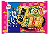 栗山米菓 瀬戸の汐揚開運アソート 33枚 ×10袋