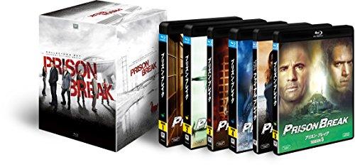 プリズン・ブレイク コンプリート ブルーレイBOX(「プリズン・ブレイク シーズン5」付) [Blu-ray]