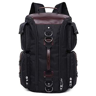 アウトドア リュックサック 40L 大容量 登山 旅行バッグ バックパック オックスフォード 2118 ブラック