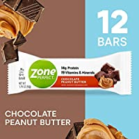 Zone Perfect - すべての自然栄養バー ボックス チョコレート ピーナッツ バター - 1バー