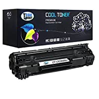 Cool Toner 1 Pack 2500 Pages High Yield Black Compatible 85A CE285A CE285X CE285 Toner Cartridge For LaserJet Pro P1102W P1102 P1100 M1212NF MFP M1212NFW MFP MF3010 M1210 M1132 Printer 【Creative Arts】 [並行輸入品]