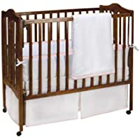 Baby Doll Bedding Forever Mine Mini Crib/ Port-a-Crib Set, Lilac by BabyDoll Bedding