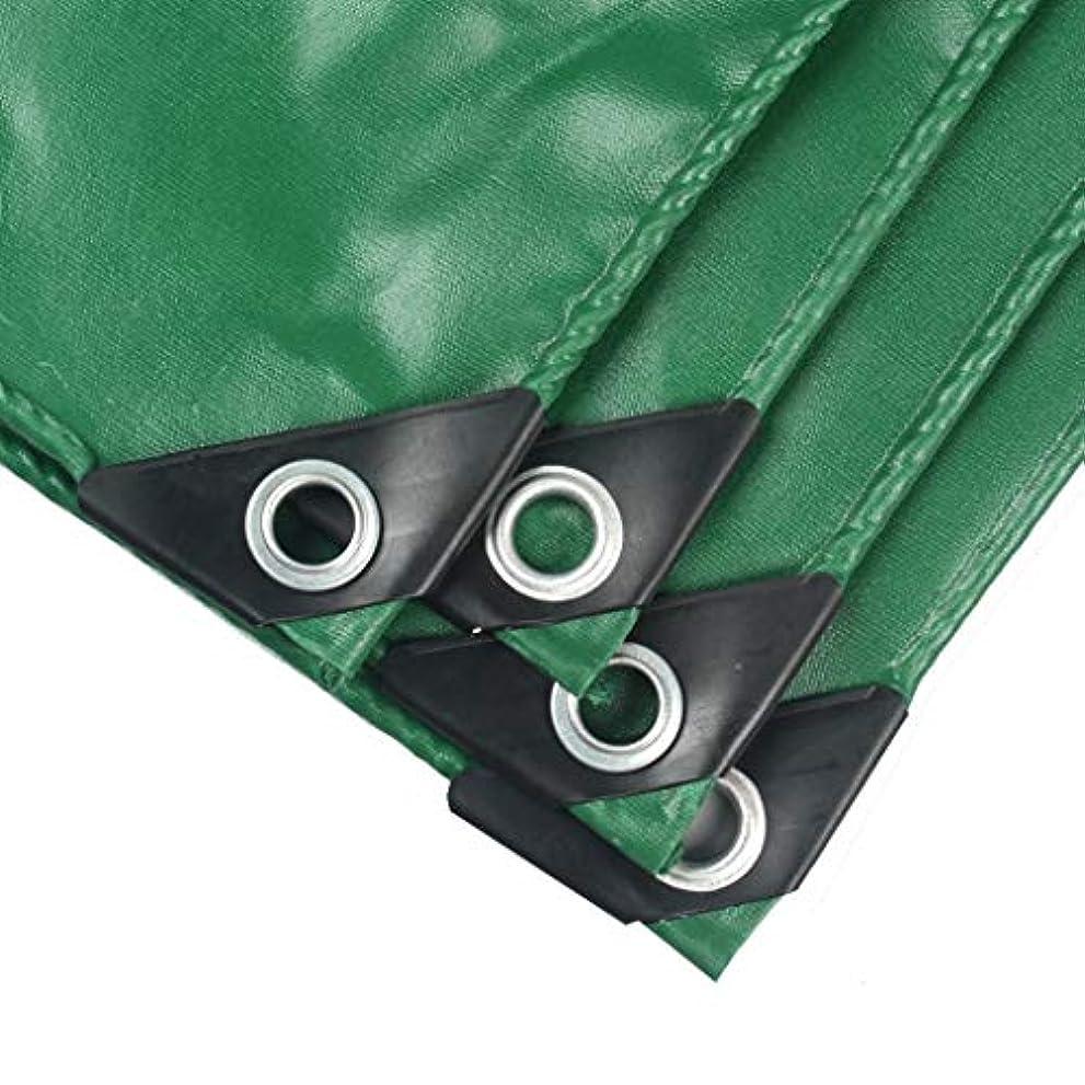 受け入れた努力する無Nwn 庭の防水防水シートの頑丈なポリ塩化ビニールの防水シート、屋外RVのトラックおよびトレーラーのための耐候性があるカバー、緑のRainproof布 (サイズ さいず : 4M×6M)