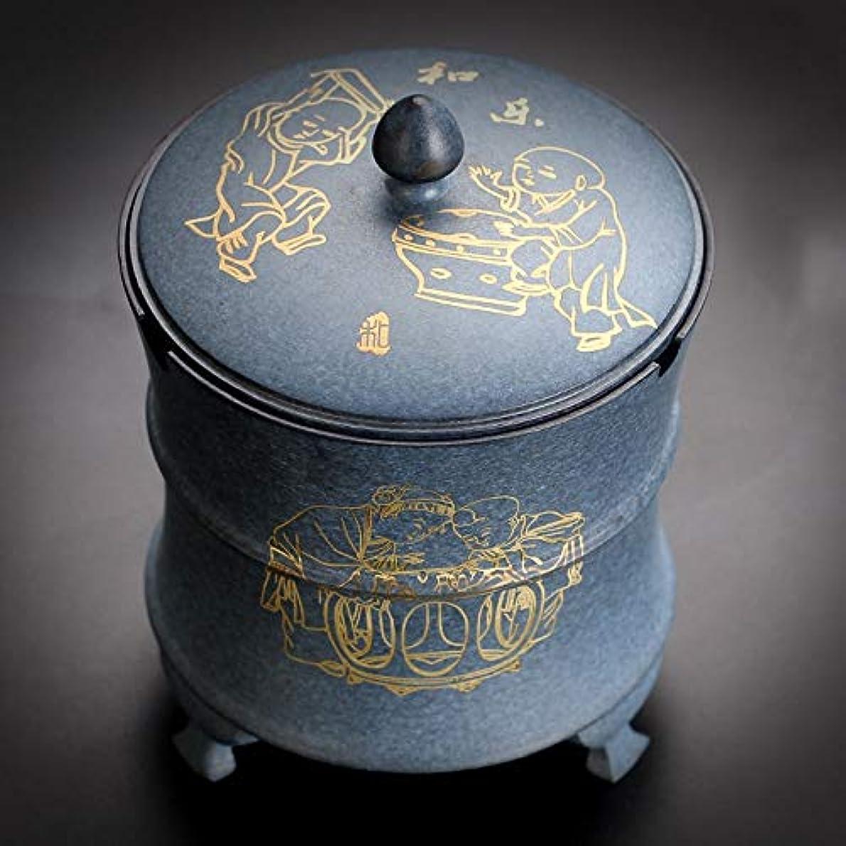 評論家より多い相反する純銅灰皿銅工芸品居間研究室装飾アンティーク灰皿装飾品