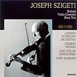 ブラームス:ヴァイオリン協奏曲、ホルン・トリオ