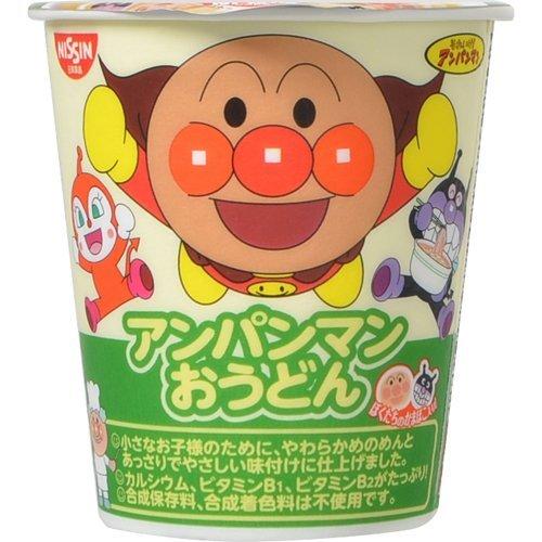 日清食品『アンパンマンおうどん やさしいおだし』