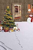 クリスマステーマビデオスタジオ背景コンピュータ印刷写真背景写真バックドロップCP _ g-018