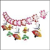お正月装飾 迎春寿鶴ガーランド L180cm  22850