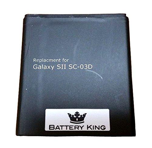 バッテリーキング GALAXY S2 LTE WIMAX SC04 SCI11UAA EB585157VK 互換バッテリー SC-03D ISW11SC i9210 i9100HD i727 E110s T989 3.7V 2000mAh ギャラクシーS2