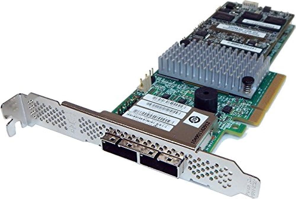 圧縮すぐにエクスタシーインテルSAS SATA 6 Gb/s PCIe RAIDコントローラrs25sb008 2 x SFF - 8088 l4 – 25436 – 04 A