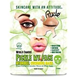 RUDE Pickle My Face Hydrogel Cucumber Mask (並行輸入品)