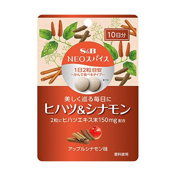 S&B NEOスパイスヒハツ&シナモン 20g×2袋の商品画像