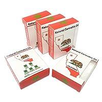 CA State Bear自然表示Concentrate Packagingオイルボックスvb-012 250 ホワイト
