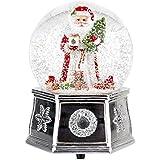 Spode Christmas Tree Musical Santa Snow Globe Small【クリスマス】【ツリー】 [並行輸入品]