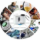 【LORIA・JP品】LEDライト 紫外線ライト 搭載 小型 マイクロスコープ 60倍 40x30x20mm 印刷物のチェック、宝石鑑定や学習用などに ZK74400