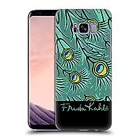Official Frida Kahlo フェザー ピーコック ハードバックケース Samsung Galaxy S8