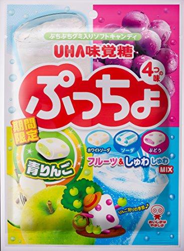 味覚糖 ぷっちょ袋 4種アソート 98G×6袋