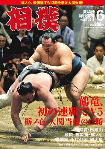 相撲 2018年 06 月号 夏場所総決算号 [雑誌]