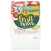 Fruit Bowl Strawberry Yogurt Flakes 126g - (Fruit Bowl) イチゴヨーグルトフレーク126グラム [並行輸入品]