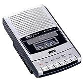 CCP ポータブル カセットテープレコーダー シルバー AW-CM1