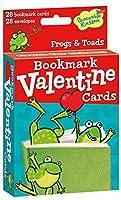 Peaceable Kingdom / Pop-Out Frog Bookmark Valentine Cards