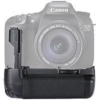 NEEWER バッテリーグリップ BG-E7交換品 Canon EOS 7D SLRカメラに対応