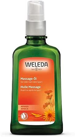 WELEDA(ヴェレダ) アルニカ マッサージオイル 100mL スポーツ ボディマッサージ用オイル 天然ハーブのクリアな香り 天然由来成分 オーガニック ローズマリーの香り