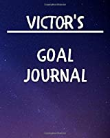Victor's Goal Journal: 2020 New Year Planner Goal Journal Gift for Victor  / Notebook / Diary / Unique Greeting Card Alternative