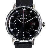 ポールスミス Paul Smith 時計 腕時計 メンズ ゲージ GAUGE ブラック シルバー レザーベルト P10071 [並行輸入品]