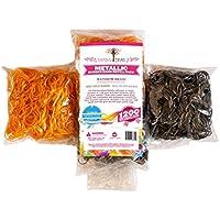 Rainbow Braid Rubber Bands - Loom Refill Set ラバーバンド 7200個 【並行輸入品】