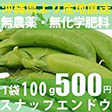 無農薬・無化学肥料 スナップエンドウ 100g