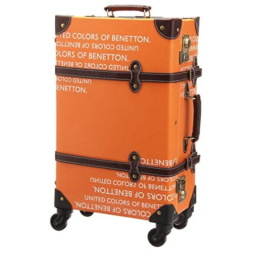 (ユナイテッドカラーズオブベネトン) UNITED COLORS OF BENETTON トランクキャリーケースM6PM(日本限定) オレンジ FREE