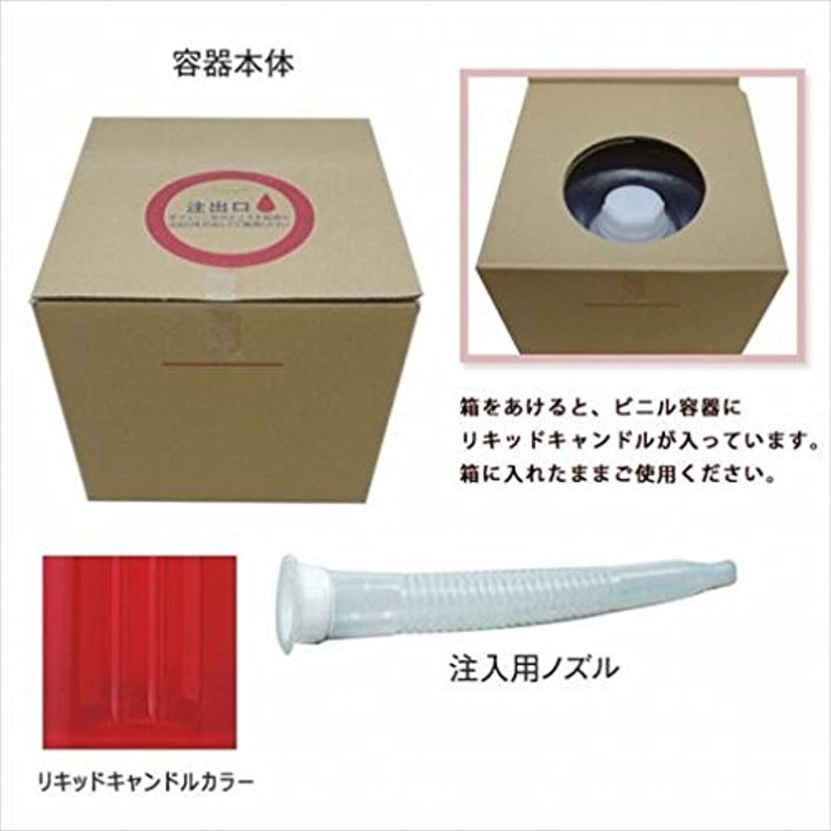 条約分離するピクニックをするカメヤマキャンドル(kameyama candle) リキッドキャンドル5リットル 「 ワインレッド 」