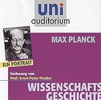 Max Planck - ein Portrait: Fachbereich: Wissenschaftsgeschichte