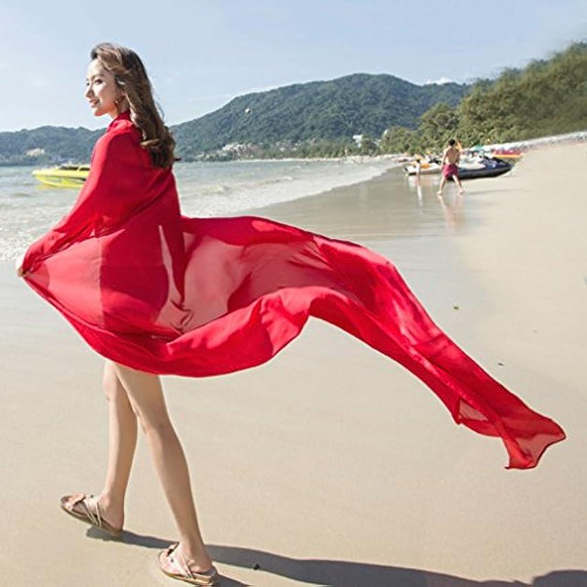 アノイ裸リーチレディース?ショール - 女性ソリッドカラースカーフサンプロテクション非常に大きなシフォンビーチタオル春と夏の休暇旅行140 * 190cm 家の装飾 ( Color : 3 )
