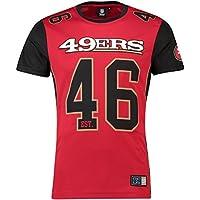 マジェスティック (Majestic) メッシュ ポリエステル ジャージー ティーシャツ - サンフランシスコフォーティナイナーズ (San Francisco 49ers)