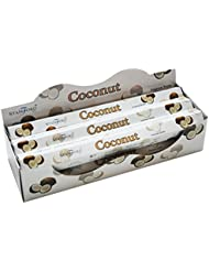 Stamford Coconut Incense, 20 Sticks x 6 Packs by Stamford