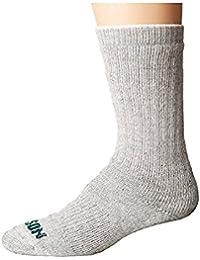 フィルソン Filson メンズ 靴下 ソックス Gray Heather Hvwt Traditional Crew Sock [並行輸入品]
