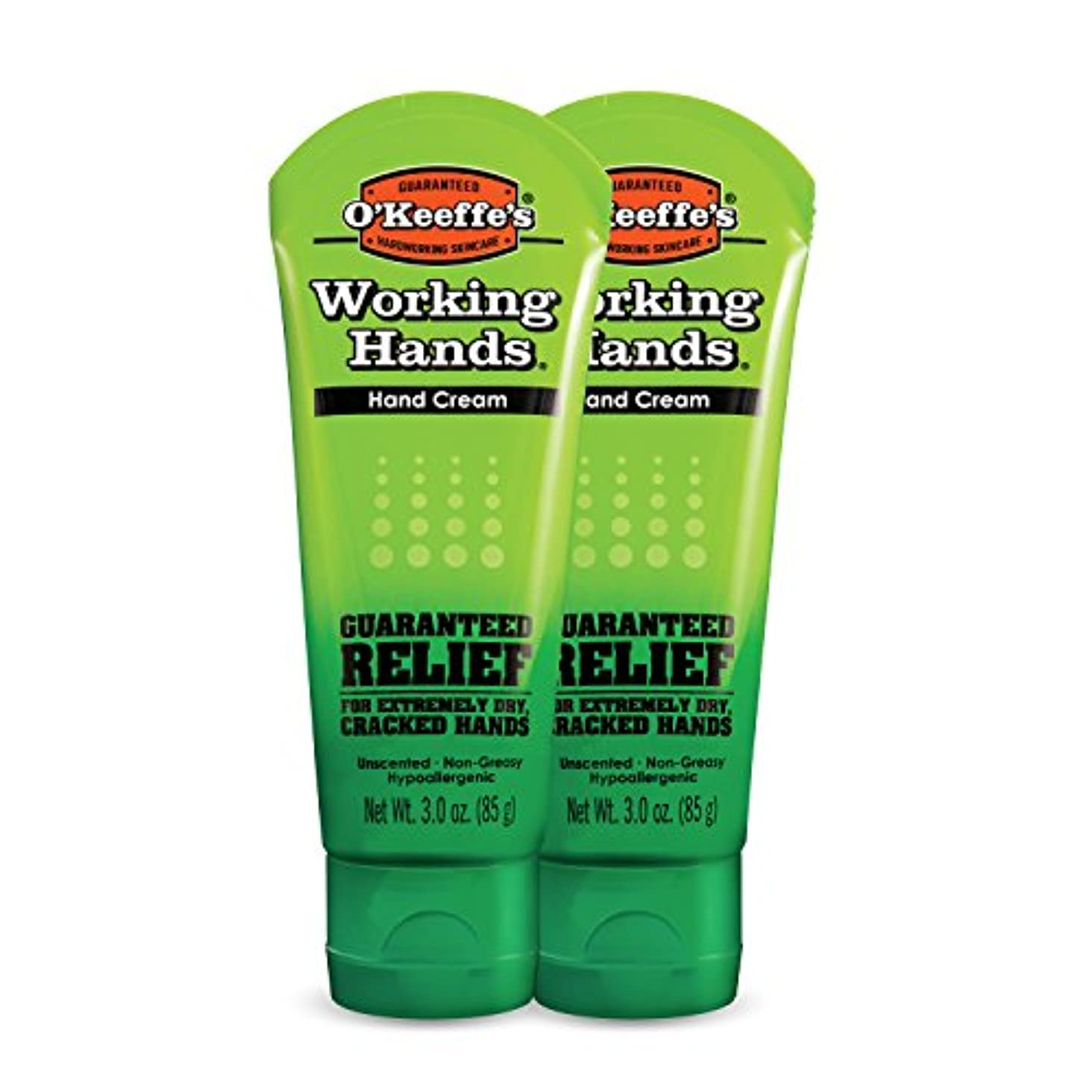 O ' Keeffe 's Working Hands Hand Cream、3 oz ( Pack of 2 )