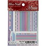 写ネイル ネイルシール Sha-Nailmore Jersey Lines (girl) MJL-002